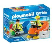 Playmobil City Life Straatveger 70203