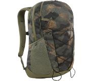 The North Face Cryptic Burnt Olive Green Waxed Camo Print/Bu