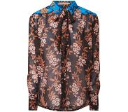 Scotch & Soda Semi-transparante blouse met strikkraag