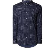 Gant Regular fit button down-overhemd met dessin