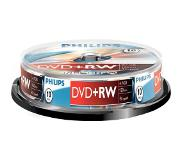 Philips DVD+RW 4x 10pk Spindle