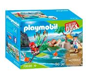 Playmobil Family Fun StarterPack Kayak training 70035