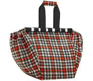 Reisenthel easy shopping bag glencheck rood