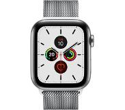 Apple Watch Series 5 smartwatch Roestvrijstaal OLED Cellulair GPS