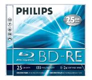 Philips BD-RE 2x 5pk Jewel case