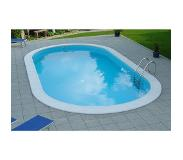 Creek Clever Pool Ovaal Hung 623 x 360 cm Diepte 120 cm 22 m³