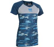 iON Scrub AMP Distortion T-shirt Dames, ocean blue EU 36 | S 2020 MTB & Downhill jerseys