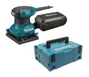 Makita BO4555J Vlakschuurmachine | 112x102 200w | in M-box systainer