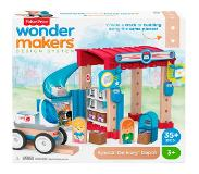 Fisher-Price Fisher Price bouwpakket Wonder Makers Postkantoor hout 35 delig