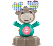 Fisher-Price Fisher Price Linkimals Muzikaal Rendier junior 18 cm groen