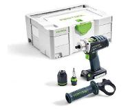 Festool 574695 DRC 18/4 Li Basic accuboormachine + 5 jaar dealer garantie!