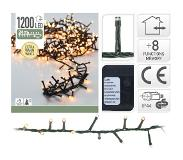 Decorative Lighting Micro Cluster 1200 LED's 24 meter extra warm wit