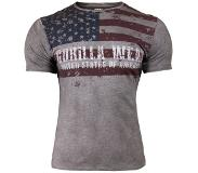Gorilla wear USA Flag Tee - L