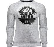 Gorilla wear Bloomington Crewneck Sweatshirt - Mixed Gray - L