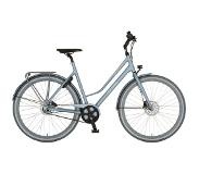 Cortina Mozzo damesfiets Metal Blue Matt ND8 Belt