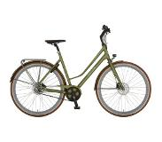 Cortina Mozzo damesfiets Nutmeg Green Matt ND8 Belt