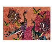Heye Puzzel peacocks+butterflies 1000 Heye 29821