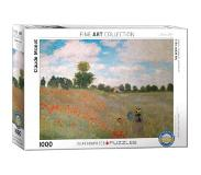 Eurographics Claude Monet - The Poppy Field Puzzel (1000 stukjes)