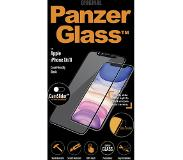 PanzerGlass Privacy Camslider iPhone Xr/11 Screenprotector Glas Zwart