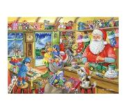 The House of Puzzles No.5 - Santa's Workshop Puzzel 500 Stukjes