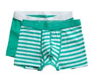 Ten Cate shorts Stripe and mint 2 pack maat 134/140