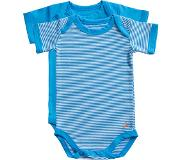 Ten Cate romper Stripe and dive blue 2 pack maat 50/56