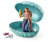 Schleich - Mermaid with Baby Seahorse in Shell (70563)