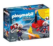 Playmobil Brandweerteam Met Waterpomp