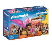 Playmobil THE MOVIE Marla, Del en Paard met vleugels 70074