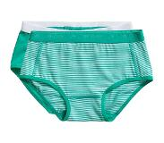 Ten Cate slip Stripe and mint 2 pack maat 110/116
