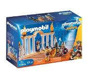 Playmobil THE MOVIE Keizer Maximus in Colosseum 70076