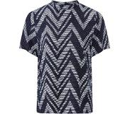 ONLY Blouse 'ONLMOODIE FIRST SS ZIGZAG TOPWVN'