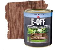 Hermadix E-OFF onderhoudsolie - Nature Brown 750 ml