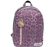 Zebra trends Girls Rugzak M leo purple