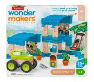 Fisher-Price Wonder Makers Huis - Houten Bouwset
