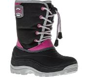 Winter-Grip Snowboot Winter-Grip Junior Northern Hiker Zwart Grijs Roze-Schoenmaat 29 - 30
