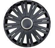 Car Plus Wieldoppen Texas Rc 16 Inch Abs Zwart Set Van 4