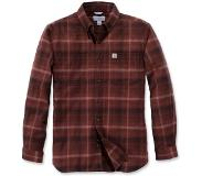 Carhartt Blouse Carhartt Men L/S Rugged Flex Hamilton Plaid Dark Chedar-M