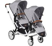 ABC Design Zoom Duokinderwagen Graphite Grey 2020