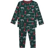 Ten Cate pyjama Sloths green maat 110/116