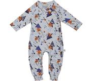 Ten Cate playsuit Winter deer grey melee maat 98/104