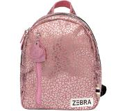 Zebra trends Girls Rugzak S pink metallic leo