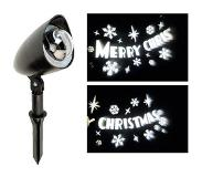 Lumineo LED Projector - Merry X-mas