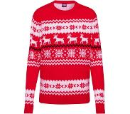 Urban Classics Trui 'Norwegian Christmas Sweater'