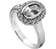 Diamonfire Zilveren Entourage Ring Maat 19.5 - Ovaal 14 Mm 814.0024.195