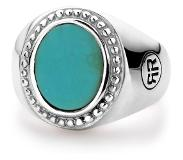 Rebel & Rose Rebel and Rose RR-RG019-S Ring zilver Women Oval Turquois 52