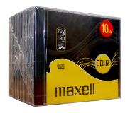 Maxell CD-R 52x 10pk Jewel case