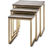 Riviera Maison Costa Mesa End Table - S/3 - Bijzettafel