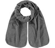 Barts Fleece Shawl Grijs one size