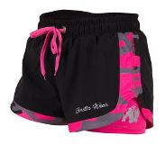 Gorilla wear Denver Shorts Zwart/Roze - XS